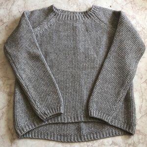 BENEDETTA B  Italian chunky hi/low sweater size L